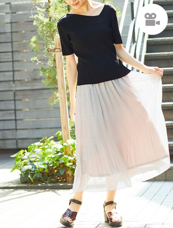 ロングスカート【WEB限定LLサイズ有】