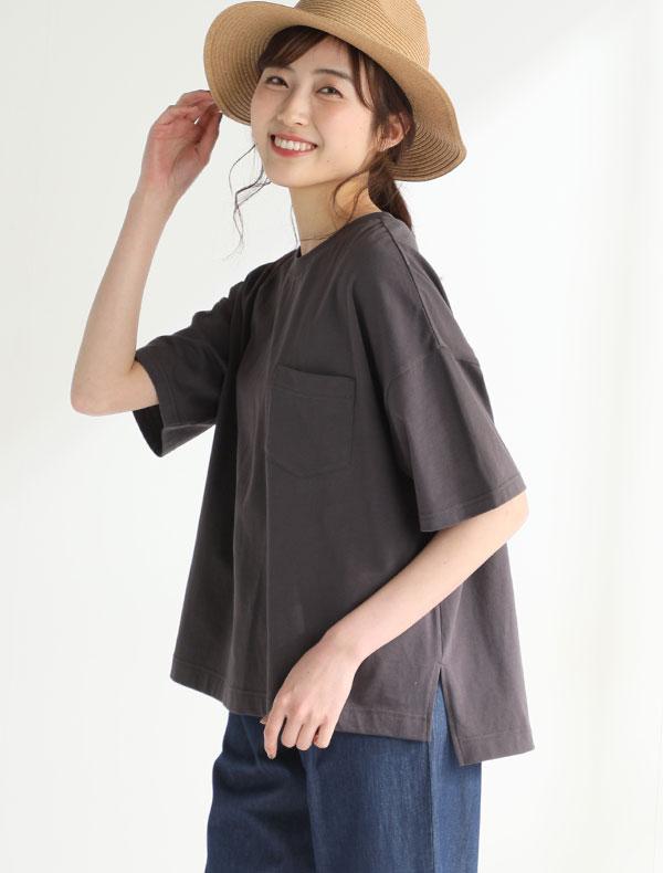 ポケ付Tシャツ